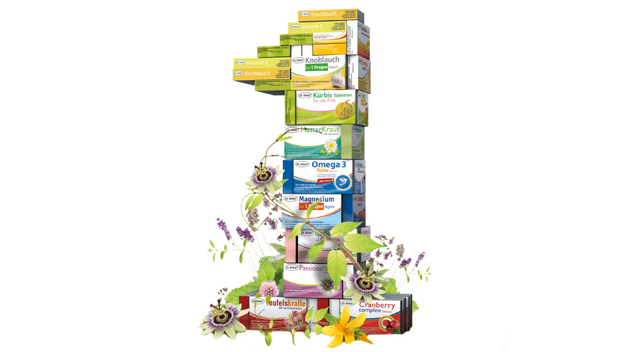 Dr. Böhm® rezeptfreie Arzneimittel - Nahrungsergänzungemittel - diätetische Lebensmittel