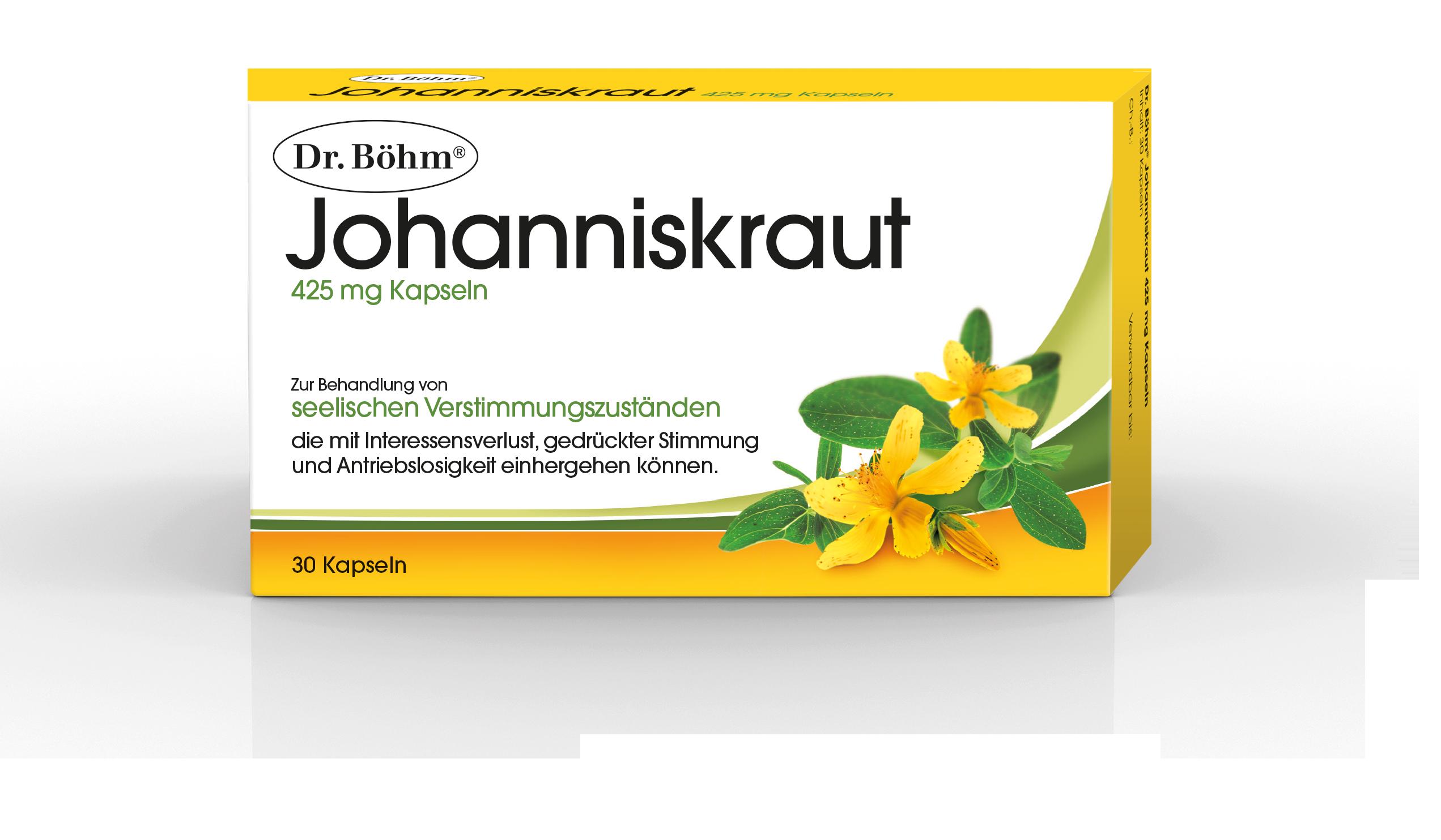 Dr. Böhm® Johanniskraut - Verstimmungszustände, Depression