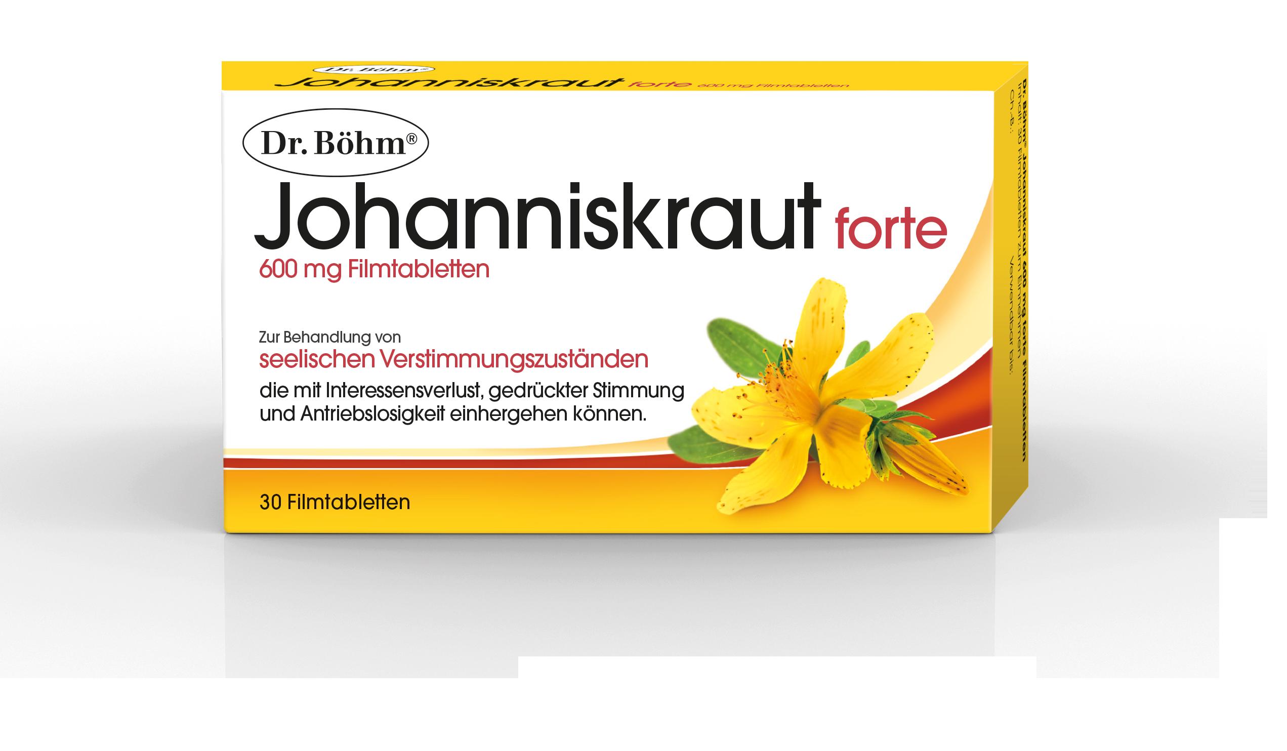 Dr. Böhm® Johanniskraut forte - Verstimmungszustände, Depression