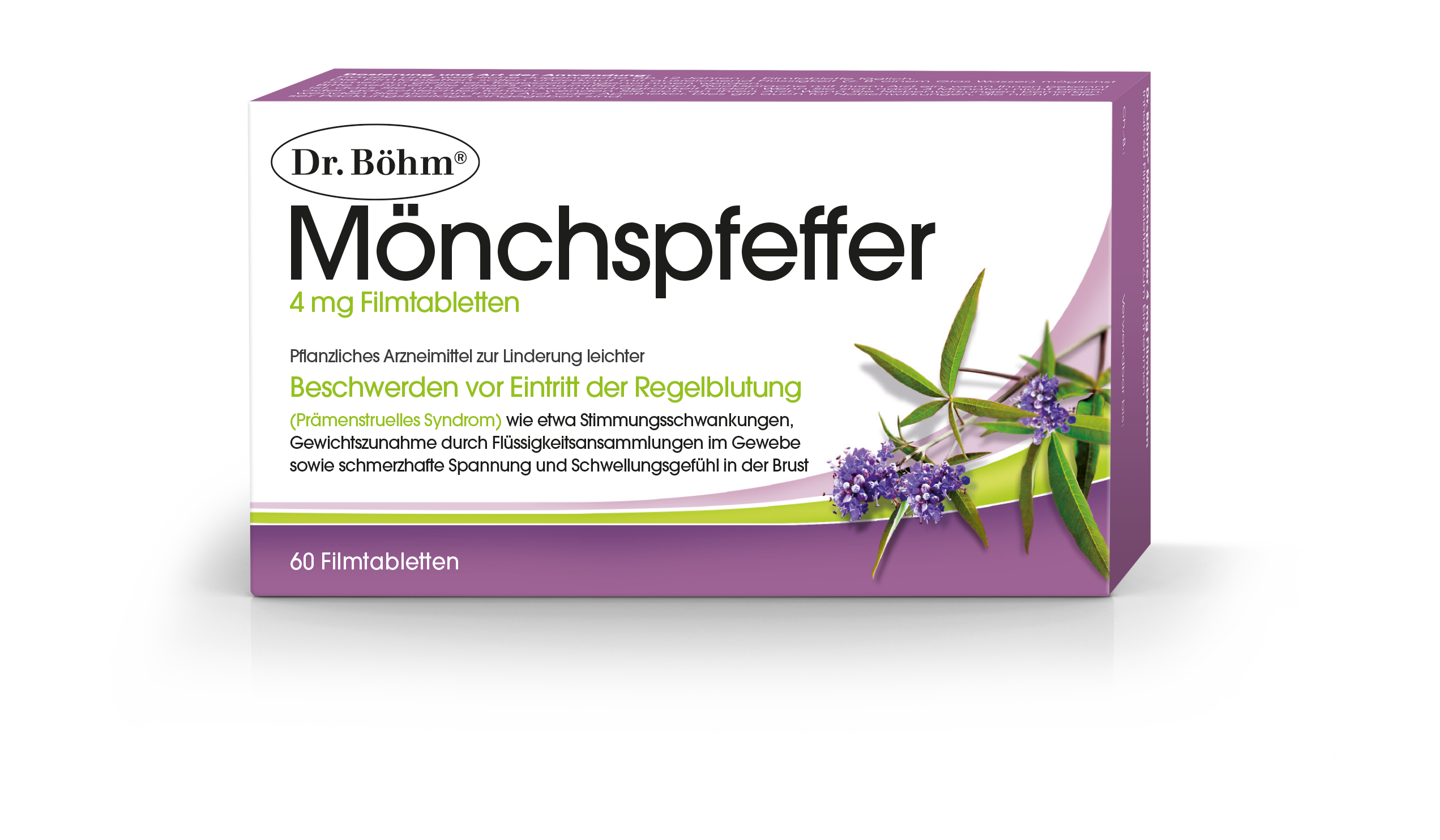Dr. Böhm® Mönchspfeffer - PMS Prämenstuelles Syndrom