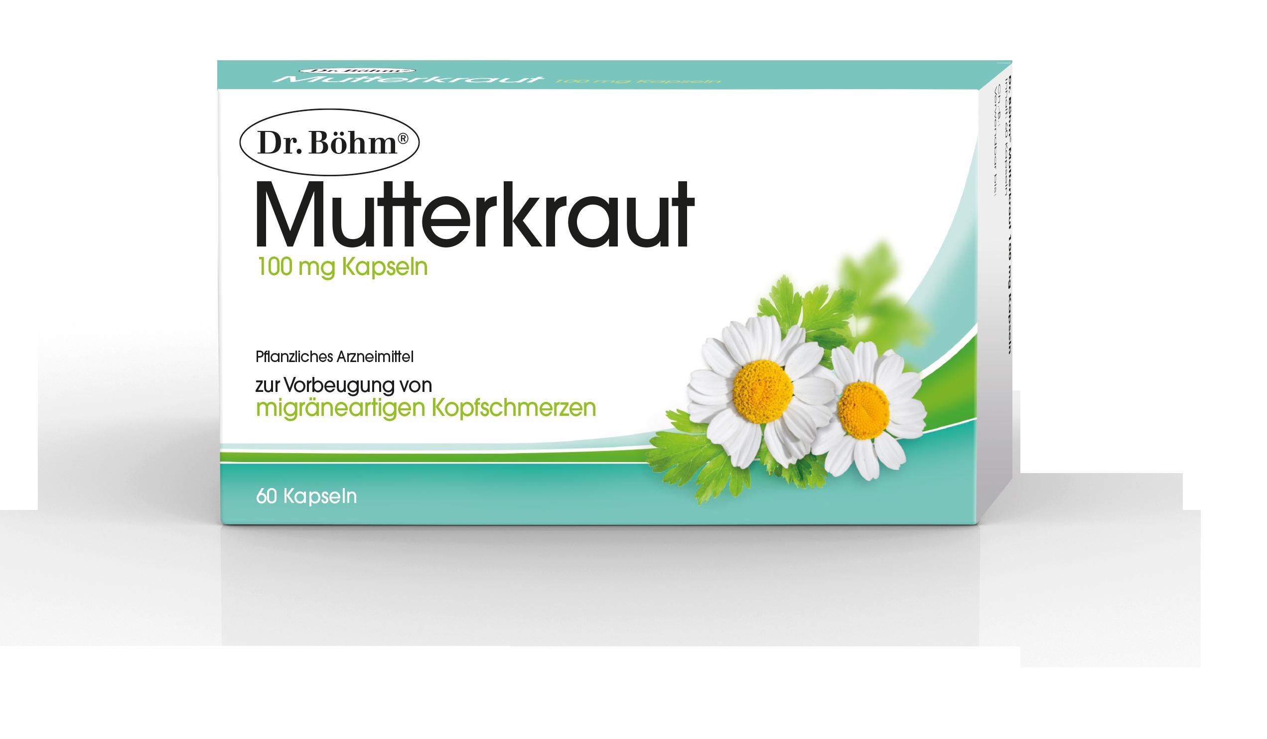 Dr. Böhm® Mutterkraut - migräneartige Kopfschmerzen