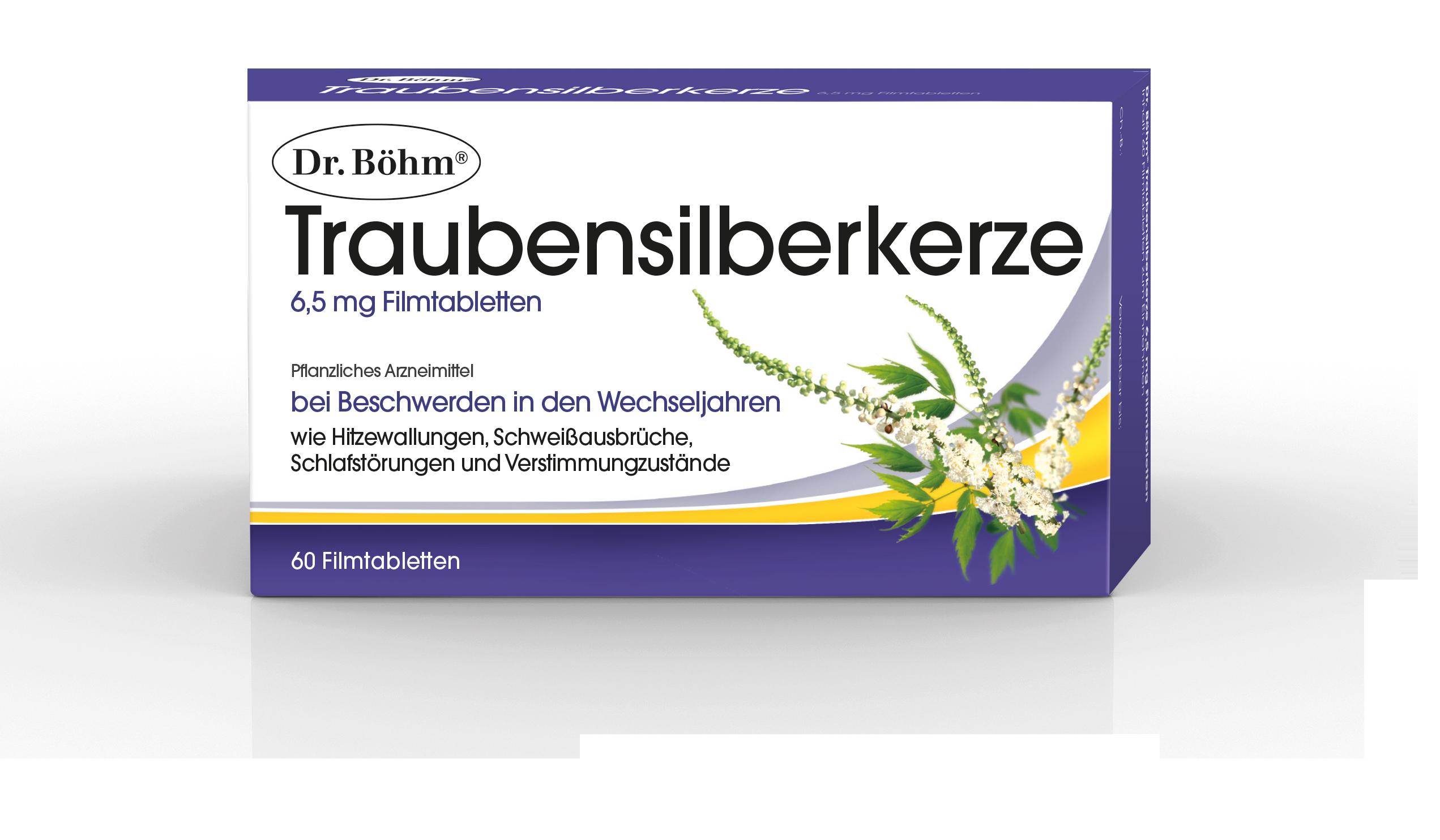Dr. Böhm® Traubensilberkerze - Hitzewallungen in den Wechseljahren