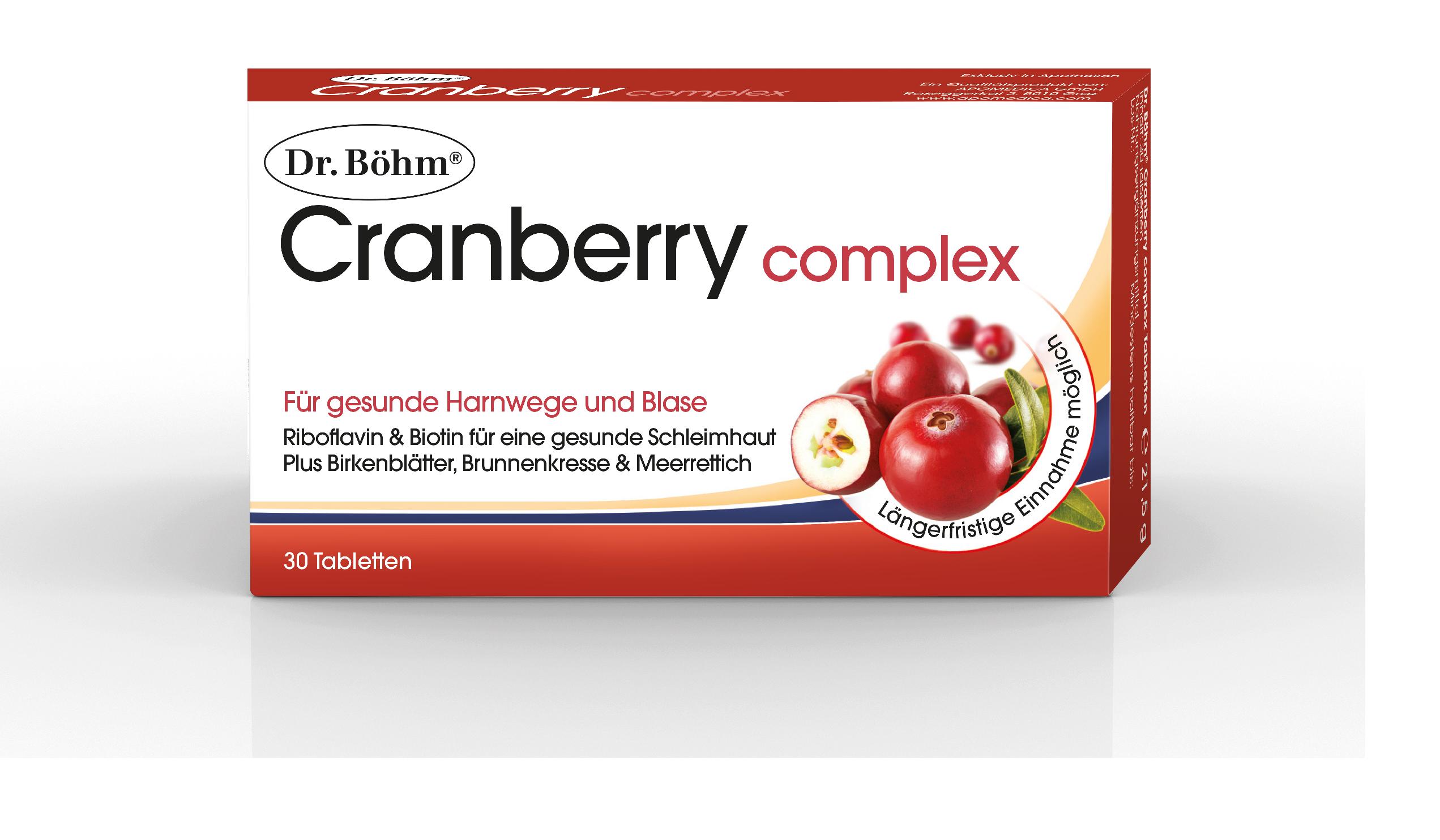 Dr. Böhm® Cranberry - Harnwegsinfektionen